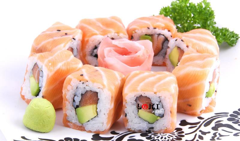 <b>MENU S6</b>  Soupe,salade |8 Maki royal |   <b>11,00 €</b>