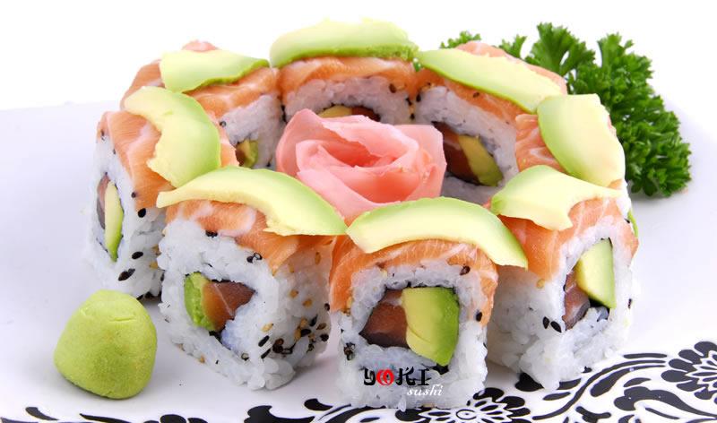 <b>MENU S7</b>  Soupe,salade |8 Maki YOKI |   <b>11.00 €</b>